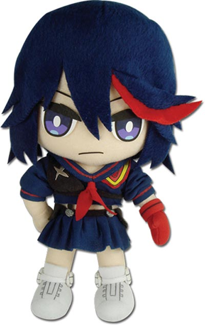 Kill La Kill Ryuko Matoi School Uniform 8 Inch Plush