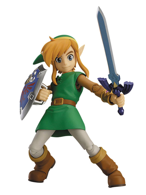 Legend of Zelda Link Between Worlds Link Figma Action Figure