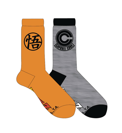 Dragon Ball Z Crew Socks 2 Pack