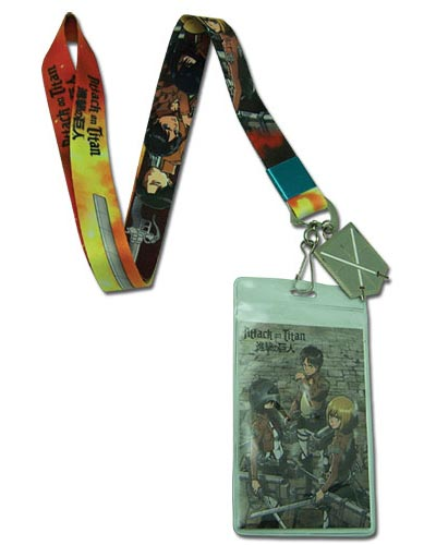 Attack On Titan Group and Sword Lanyard