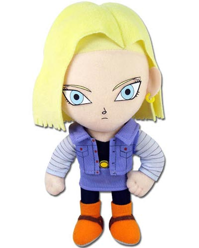Dragon Ball Z Android 18 8 Inch Plush
