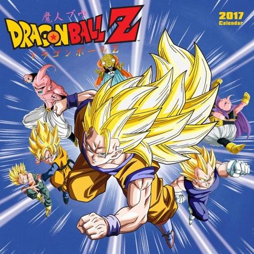 Dragon Ball Z 16-Month 2017 Wall Calendar