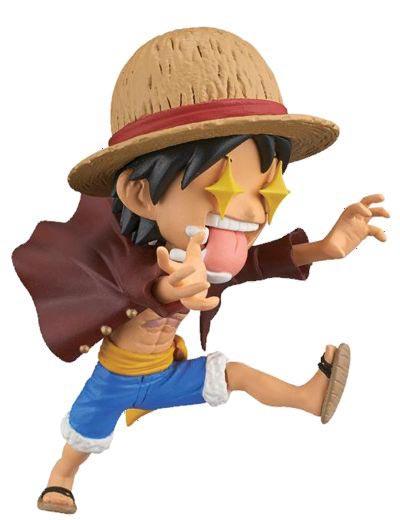 One Piece Picoocha Luffy 3 Inch Figure