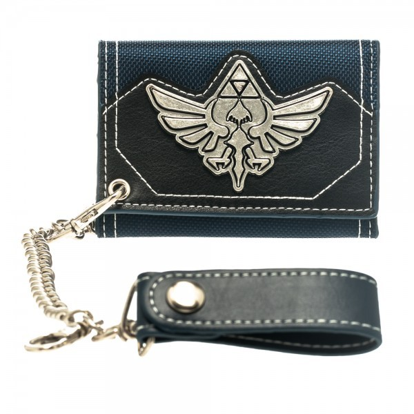 Nintendo Zelda Metal Badge Chain Wallet