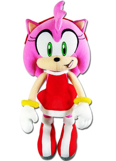 Sonic the Hedgehog Amy Rose 9 Inch Plush