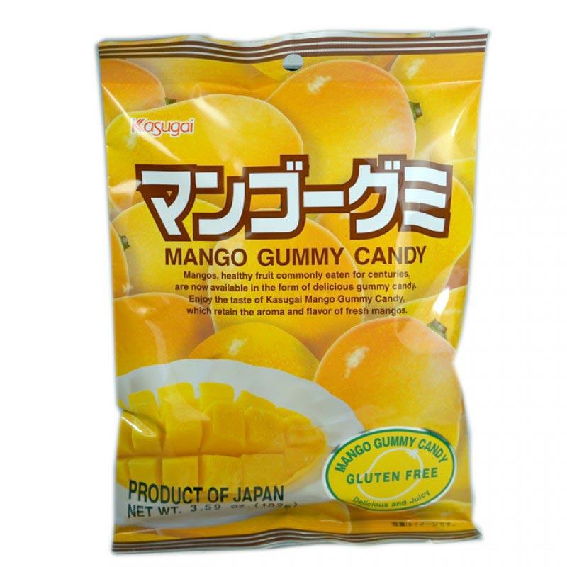 Kasugai Gummy Candy Mango 3.59oz