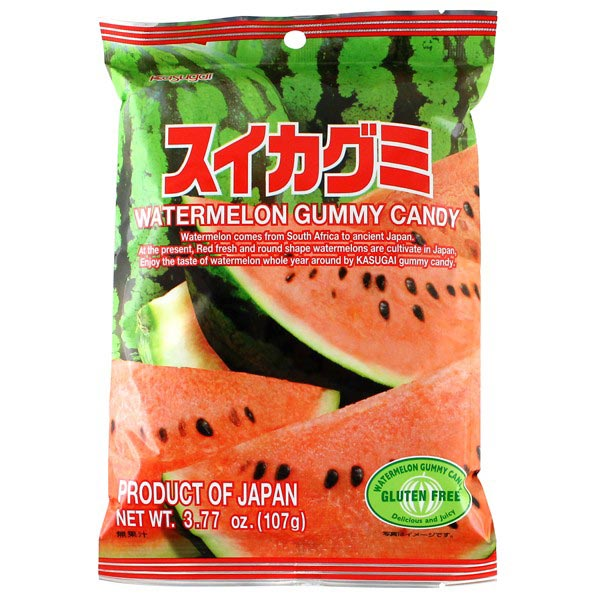 Kasugai Gummy Candy Watermelon 3.77oz