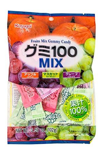 Kasugai Gummy Candy Fruit Mix 3.59oz