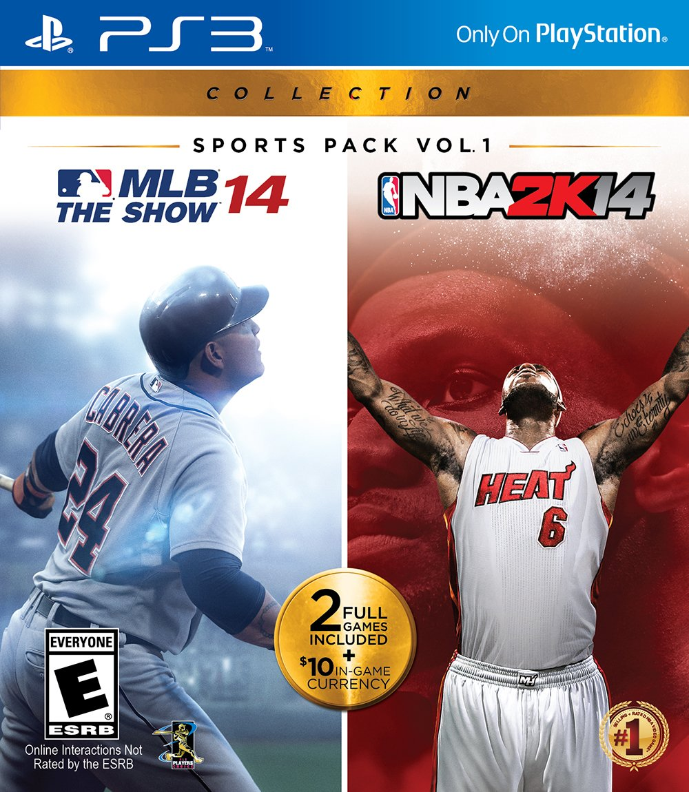 Sports Pack Vol. 1: MLB The Show 14 & NBA 2K14