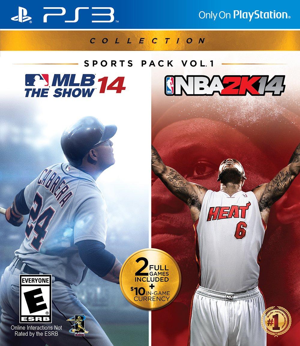 Sports Pack Vol. 1: MLB The Show 14 & NBA 2K14