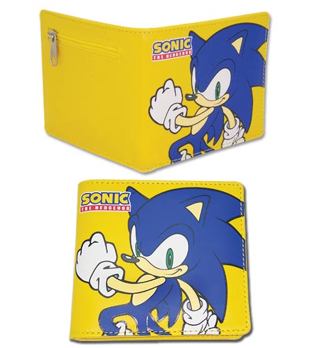 Sonic the Hedgehog Sonic Yellow Bi-Fold Wallet