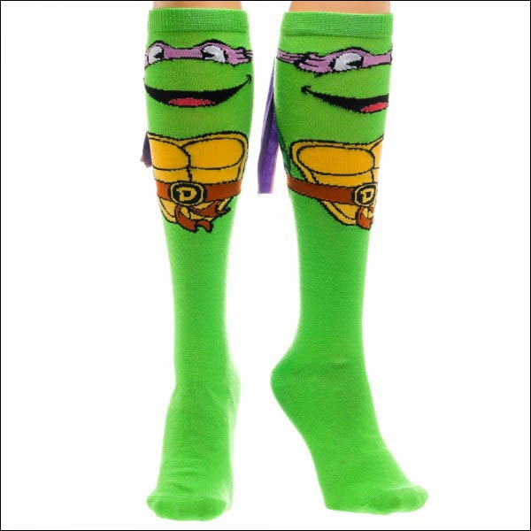 Teenage Mutant Ninja Turtles Donatello Knee High with Mask