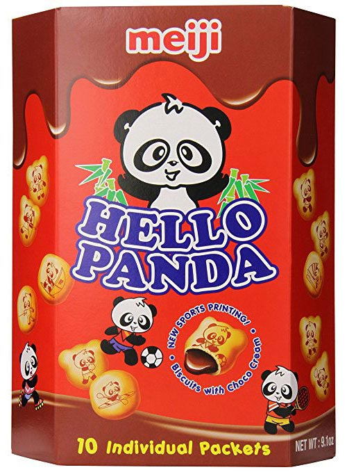 Hello Panda Chocolate Cream Filled Biscuits 9.1oz