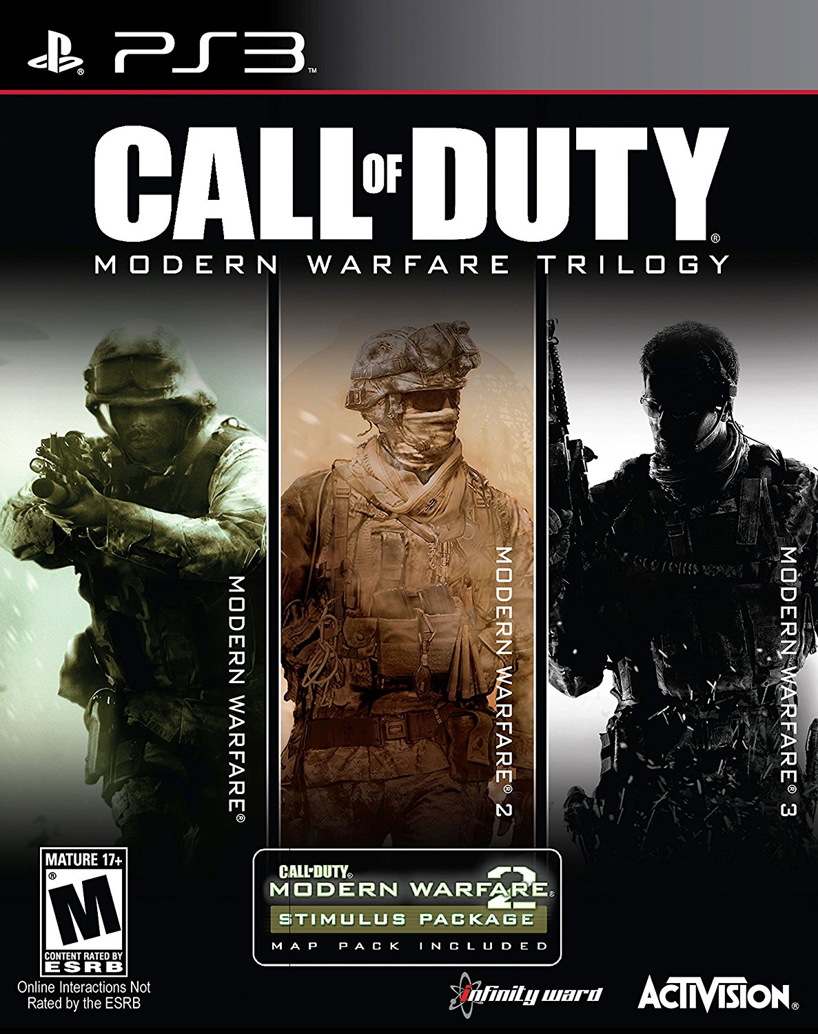 Buy Playstation 3 Call Of Duty Modern Warfare Trilogy Estarland Com