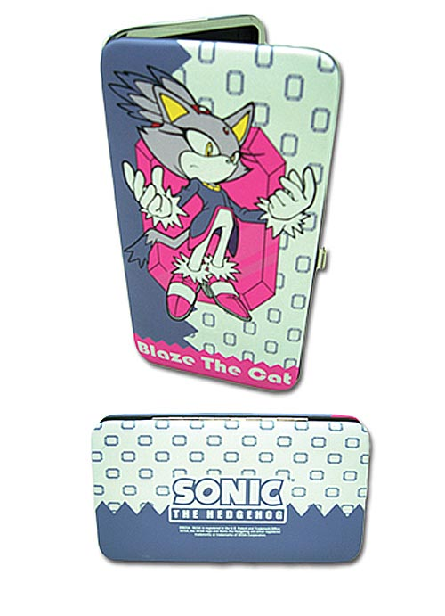 Sonic Classic Blaze The Cat Hinge Wallet