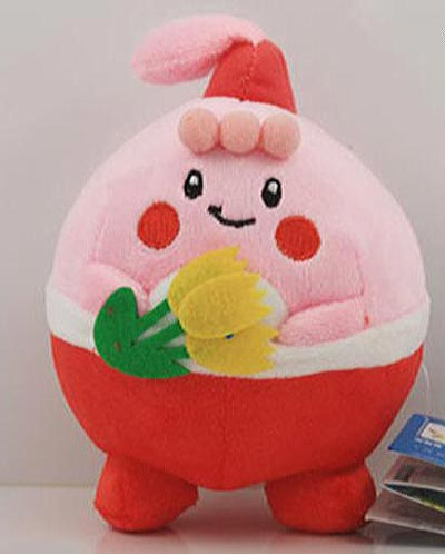Pokemon Happiny and Flowers 6 Inch Plush