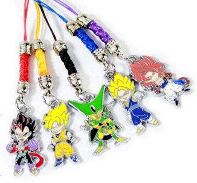 Dragon Ball Z Multi Character Charms