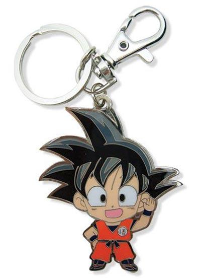 Dragon Ball Z Child Goku Metal Keychain