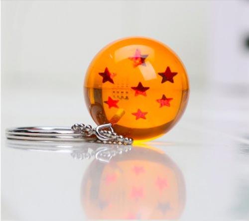 Dragon Ball Z 7 Star Crystal Ball Keychain