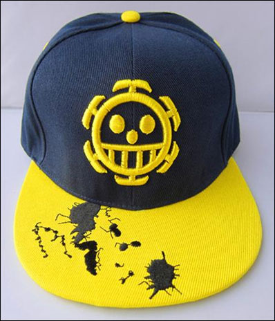 One Piece Heart Pirates Logo Snapback