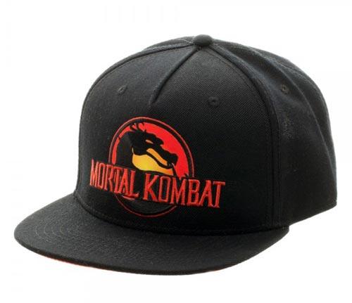 Mortal Kombat Logo Snapback
