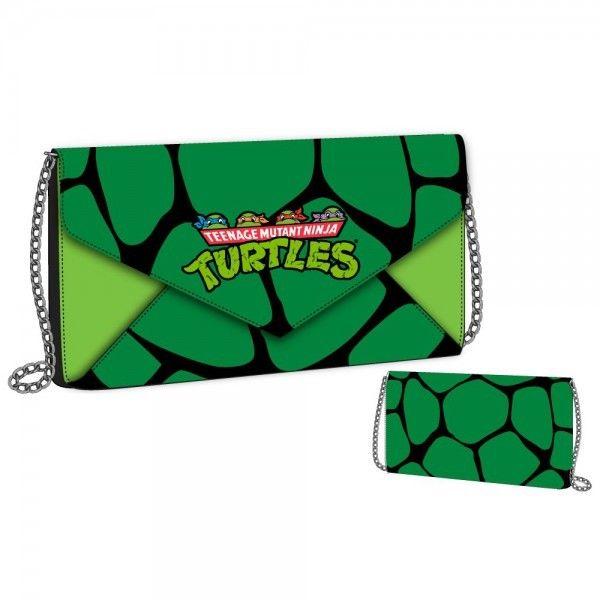 Teenage Mutant Ninja Turtles Envelope Wallet with Chain