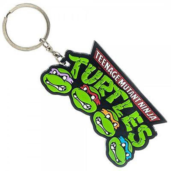 Teenage Mutant Ninja Turtles Metal Keychain