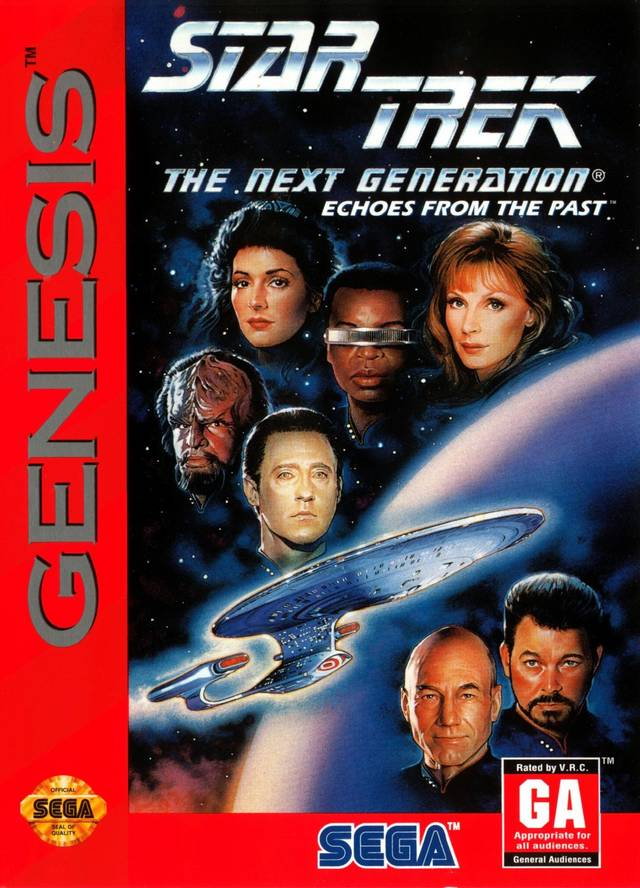 Star Trek: The Next Generation Echoes From the Past