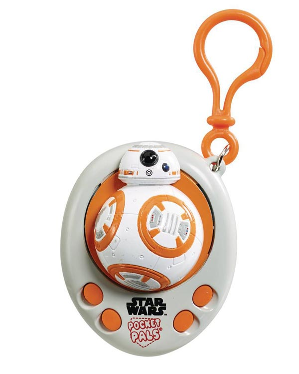 Star Wars BB-8 Pocket Pal Talking Keychain