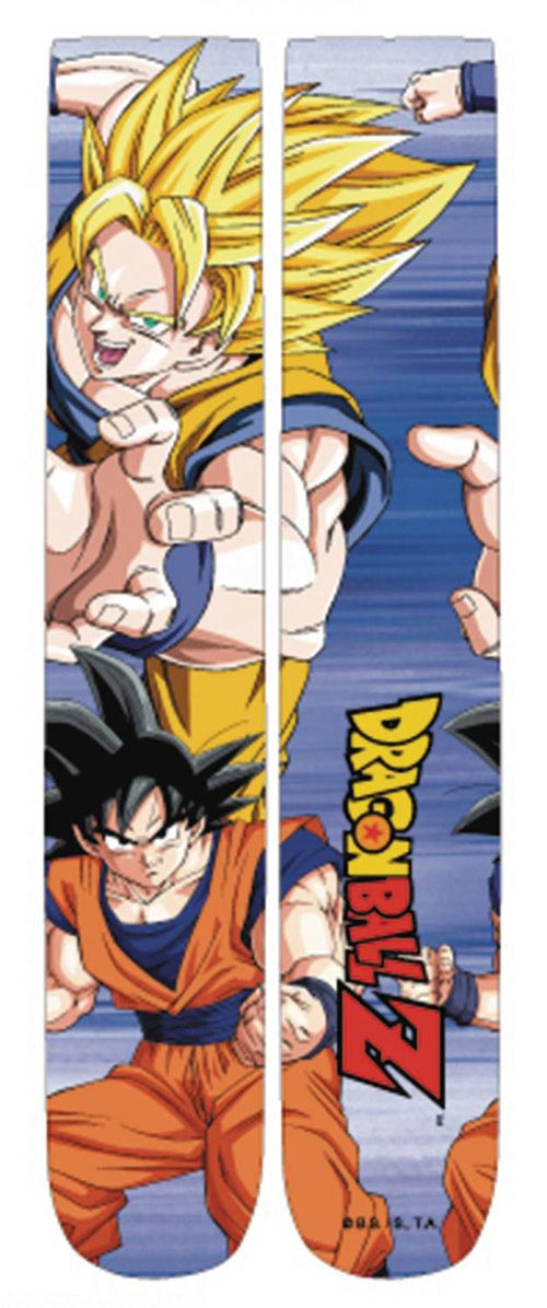 Dragon Ball Z Super Saiyan Crew Socks