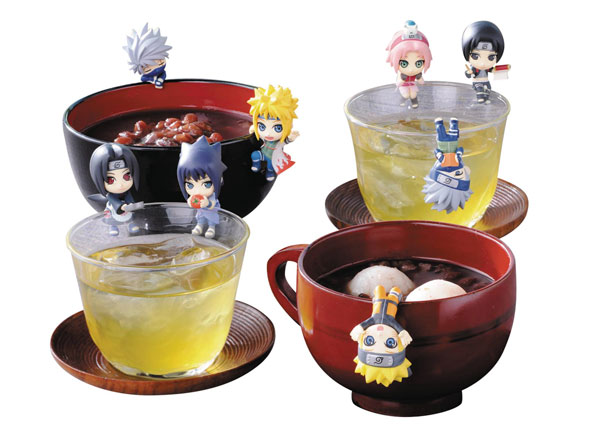 Naruto Shippuden Ochatomo Konoha Break Time Figures