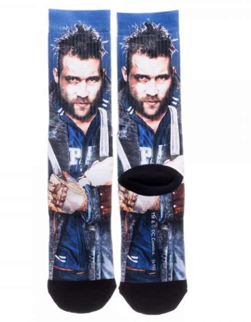 Suicide Squad Boomerang Sublimated Crew Socks