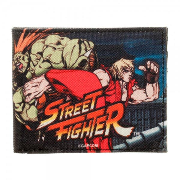 Street Fighter Sublimated Bi-Fold Wallet