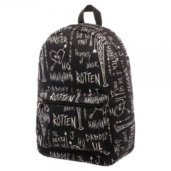 Suicide Squad Sketch Sublimated Backpack