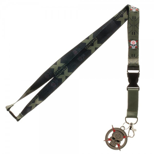 Suicide Squad Taskforce X Lanyard with Metal Charm