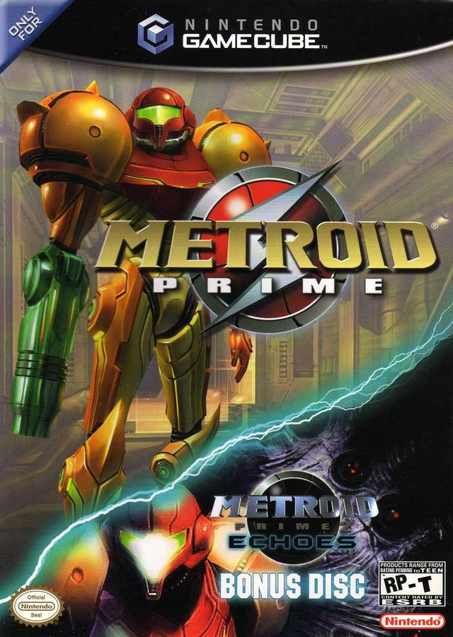 Metroid Prime With Metroid Prime 2 Echoes Bonus Disc