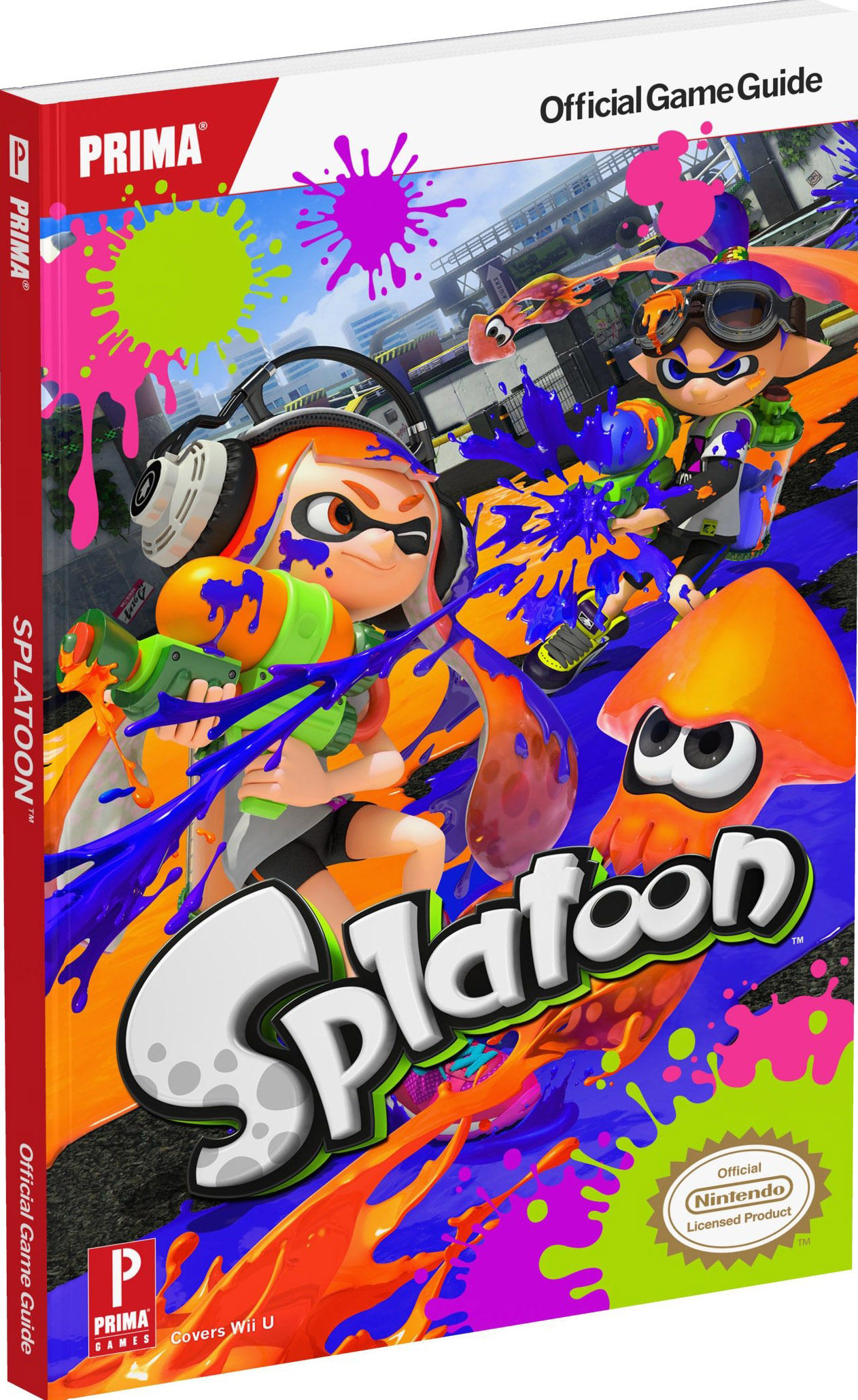 Splatoon Official Guide by Prima