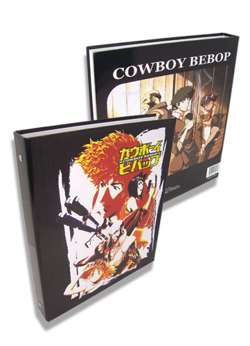 Cowboy Bebop Spike And Group 1 1/2 Inch Binder