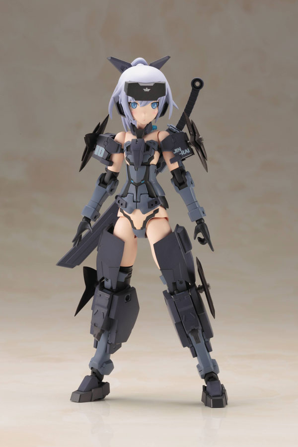 Frame Arms Girl Jinrai Indigo Version Plastic Model Kit