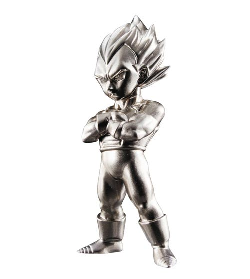 Dragon Ball Z Super Saiyan Vegeta Absolute Chogokin Mini Figure