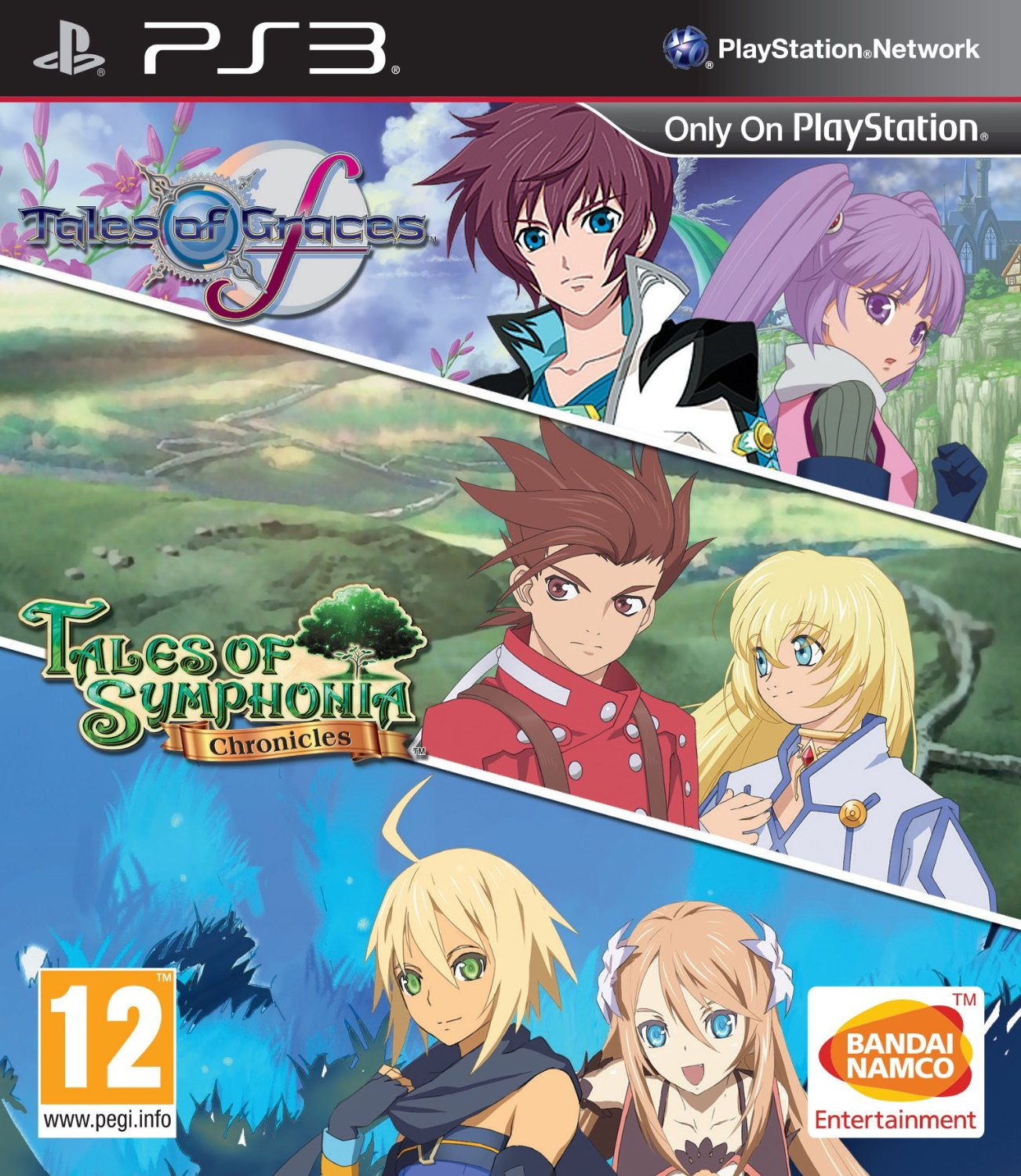 Tales of Graces F and Tales of Symphonia Chronicles Bundle