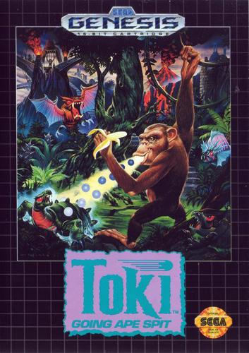 Toki Going Ape Spit