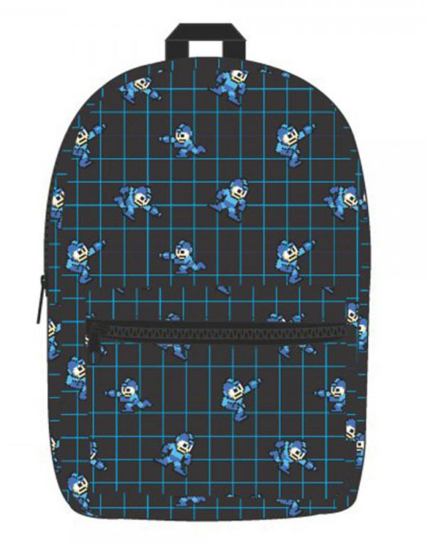 Mega Man Pixel Sublimated Backpack