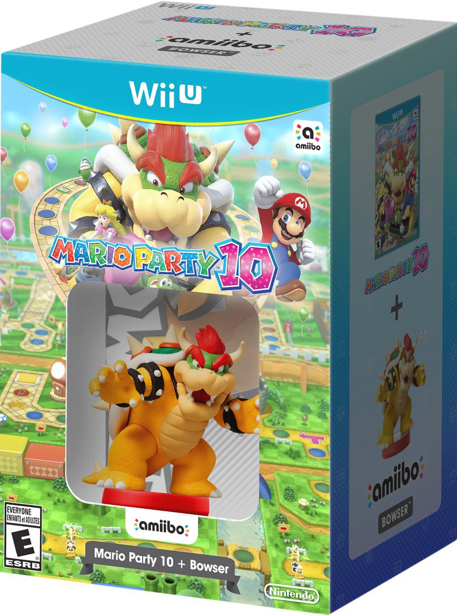 Mario Party 10 & Bowser amiibo Bundle