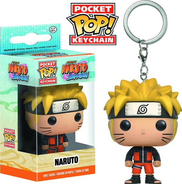 Pocket Pop Naruto Vinly Figure Keychain