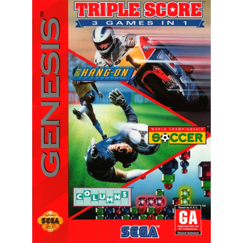 Triple Score: 3 Games in 1