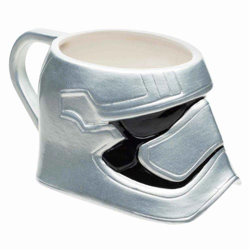 Star Wars The Force Awakens Captain Phasma Helmet Ceramic Mug