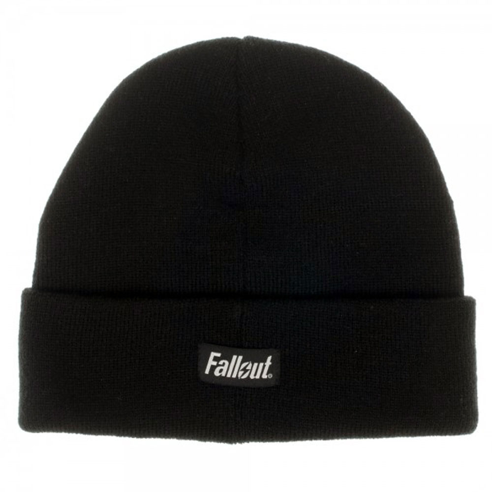 Fallout Vault Boy Black Single Layer Cuff Beanie