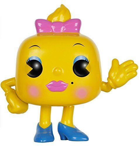 Pop Games Pac-Man Ms. Pac-Man Vinyl Figure