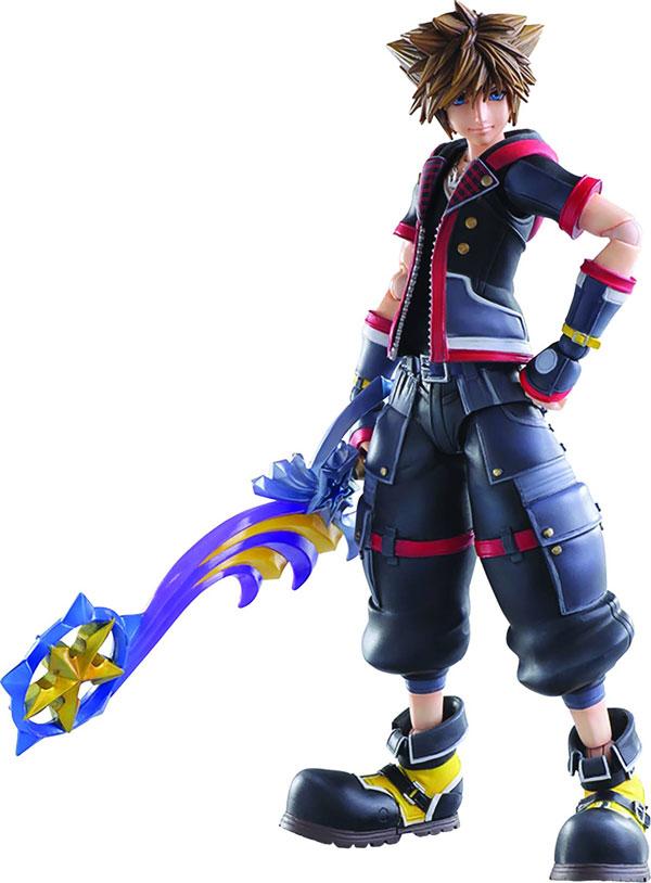 Kingdom Hearts III Sora Play Arts Kai Action Figure